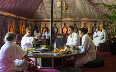 Peninsula Hot Springs – Royal Moroccan Tent Package (Superior) – Spa and Bath Tours