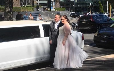 White Limo Hire Melbourne – Wedding Joy in the Heart of the City